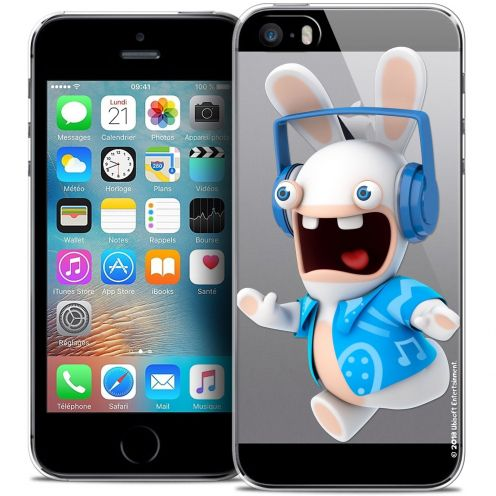 Coque iPhone 5/5s/SE Extra Fine Lapins Crétins™ - Techno Lapin