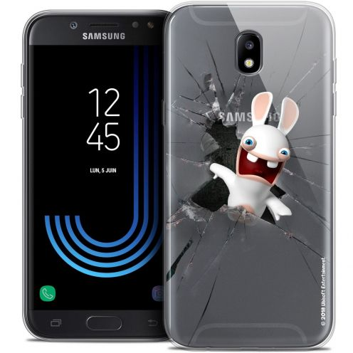 "Coque Gel Samsung Galaxy J5 2017 J530 (5.2"") Extra Fine Lapins Crétins™ - Breaking Glass"