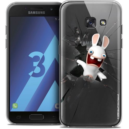 Coque Samsung Galaxy A3 2017 (A320) Extra Fine Lapins Crétins™ - Breaking Glass