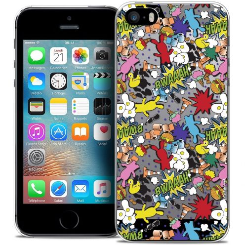 Coque iPhone 5/5s/SE Extra Fine Lapins Crétins™ - Bwaaah Pattern