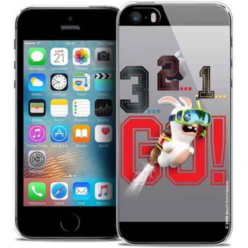 Coque iPhone 5/5s/SE Extra Fine Lapins Crétins™ - 321 Go !