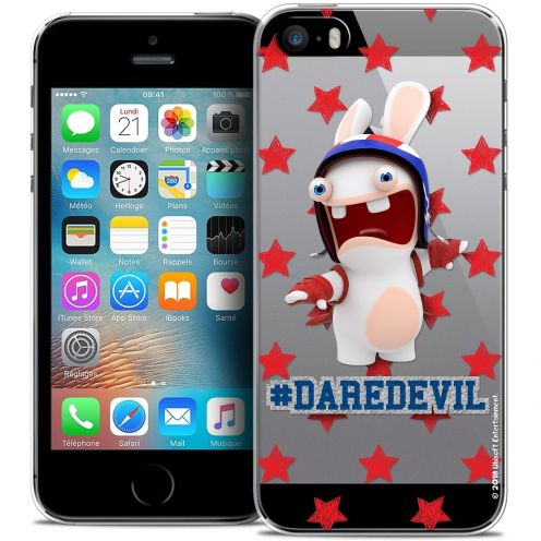 Coque iPhone 5/5s/SE Extra Fine Lapins Crétins™ - Dare Devil