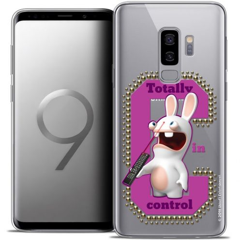 "Coque Gel Samsung Galaxy S9+ (6.2"") Extra Fine Lapins Crétins™ - In Control !"