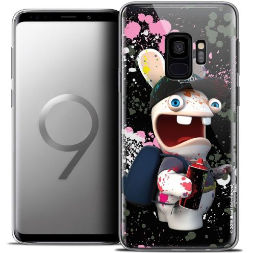 "Coque Gel Samsung Galaxy S9 (5.8"") Extra Fine Lapins Crétins™ - Painter"