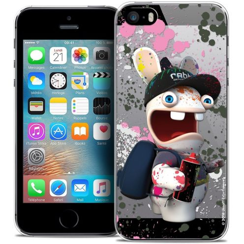 Coque iPhone 5/5s/SE Extra Fine Lapins Crétins™ - Painter
