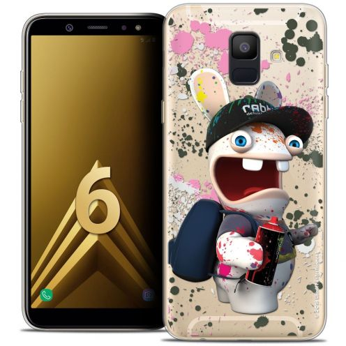 "Coque Gel Samsung Galaxy A6 2018 (5.45"") Extra Fine Lapins Crétins™ - Painter"