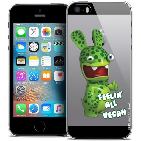 Coque iPhone 5/5s/SE Extra Fine Lapins Crétins™ - Vegan