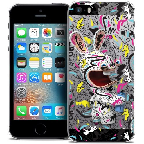 Coque iPhone 5/5s/SE Extra Fine Lapins Crétins™ - Tag