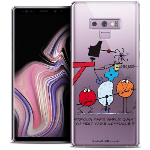 """Coque Gel Samsung Galaxy Note 9 (6.4"""") Extra Fine Les Shadoks® - Pourquoi faire Simple"""