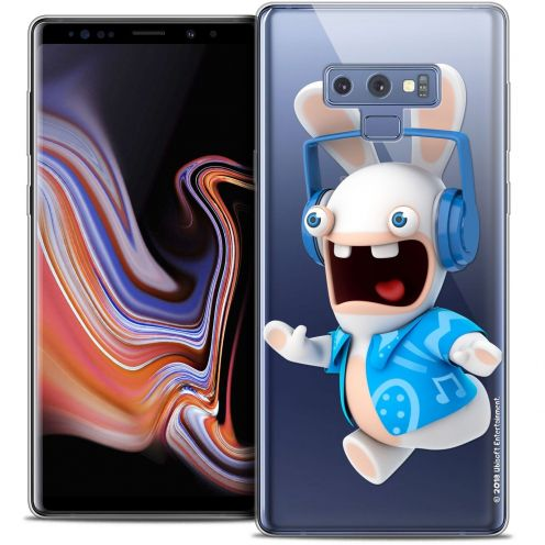 """Coque Gel Samsung Galaxy Note 9 (6.4"""") Extra Fine Lapins Crétins™ - Techno Lapin"""