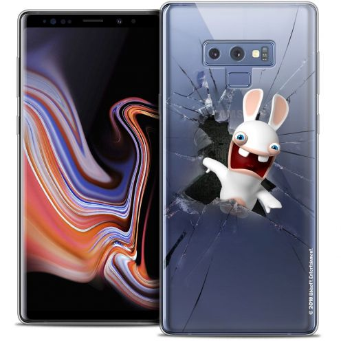 """Coque Gel Samsung Galaxy Note 9 (6.4"""") Extra Fine Lapins Crétins™ - Breaking Glass"""