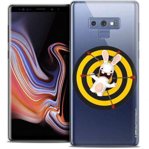 """Coque Gel Samsung Galaxy Note 9 (6.4"""") Extra Fine Lapins Crétins™ - Target"""
