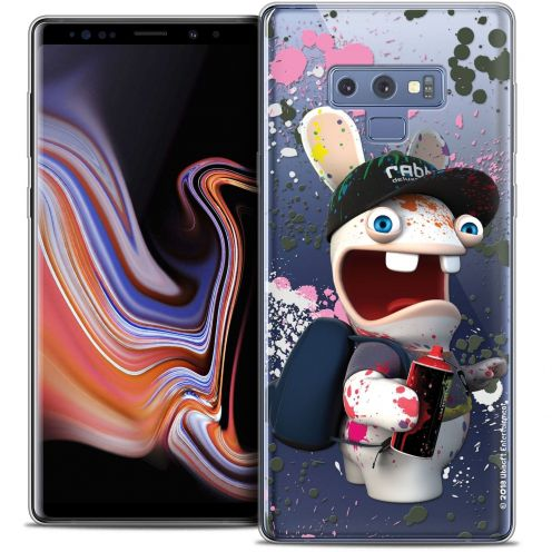 """Coque Gel Samsung Galaxy Note 9 (6.4"""") Extra Fine Lapins Crétins™ - Painter"""