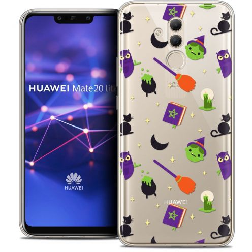 "Coque Crystal Gel Huawei Mate 20 Lite (6.3"") Extra Fine Halloween - Witch Potter"