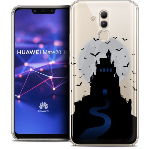 "Coque Crystal Gel Huawei Mate 20 Lite (6.3"") Extra Fine Halloween - Castle Nightmare"