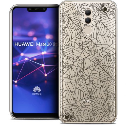"Coque Crystal Gel Huawei Mate 20 Lite (6.3"") Extra Fine Halloween - Spooky Spider"