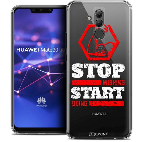 """Coque Crystal Gel Huawei Mate 20 Lite (6.3"""") Extra Fine Quote - Start Doing"""