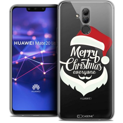 "Coque Crystal Gel Huawei Mate 20 Lite (6.3"") Extra Fine Noël 2017 - Merry Everyone"