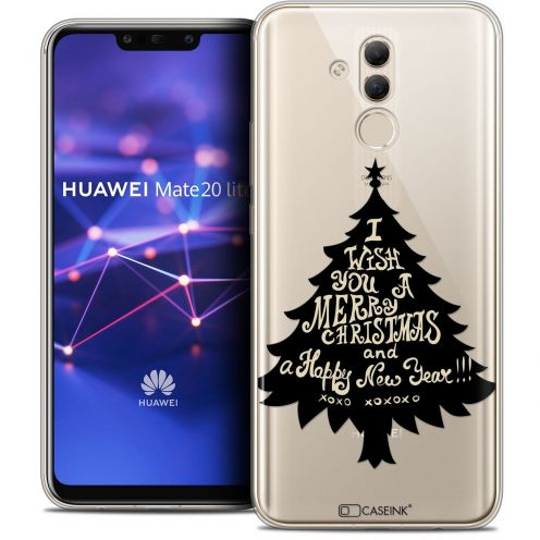 "Coque Crystal Gel Huawei Mate 20 Lite (6.3"") Extra Fine Noël 2017 - XOXO Tree"