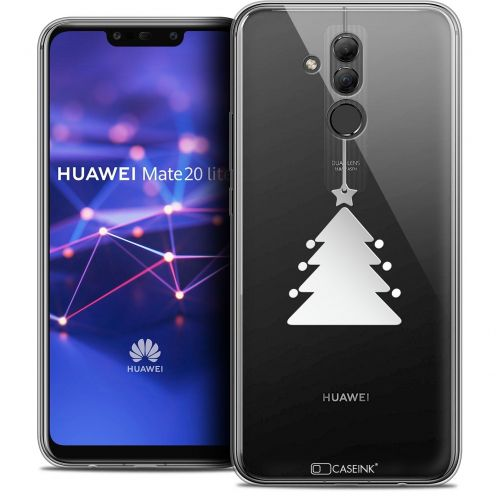 "Coque Crystal Gel Huawei Mate 20 Lite (6.3"") Extra Fine Noël 2017 - Petit Arbre"
