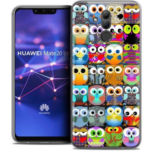 "Coque Crystal Gel Huawei Mate 20 Lite (6.3"") Extra Fine Claude - Hibous"