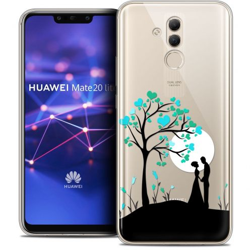 "Coque Crystal Gel Huawei Mate 20 Lite (6.3"") Extra Fine Love - Sous l'arbre"