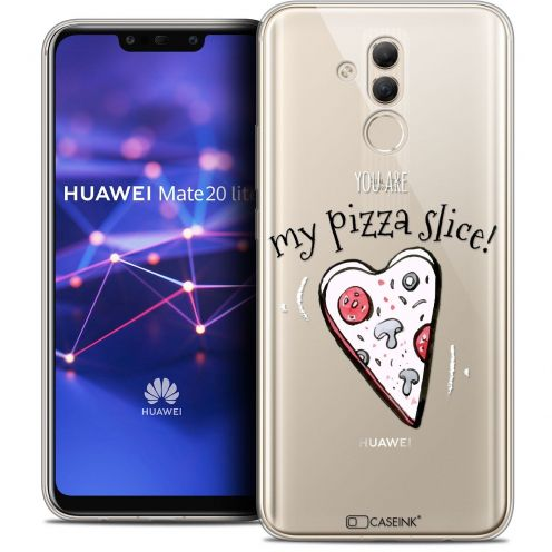 """Coque Crystal Gel Huawei Mate 20 Lite (6.3"""") Extra Fine Love - My Pizza Slice"""