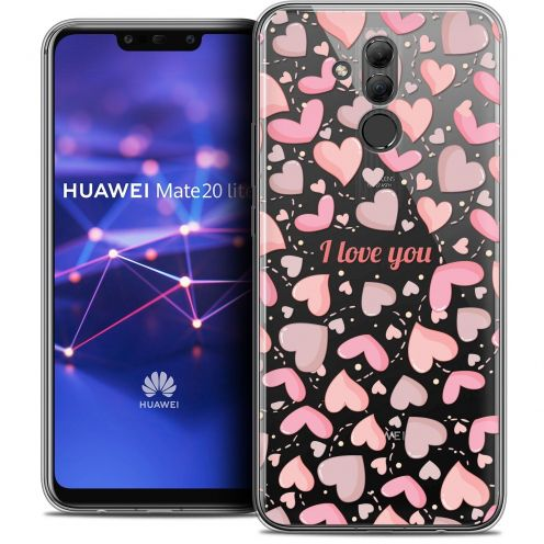 "Coque Crystal Gel Huawei Mate 20 Lite (6.3"") Extra Fine Love - I Love You"