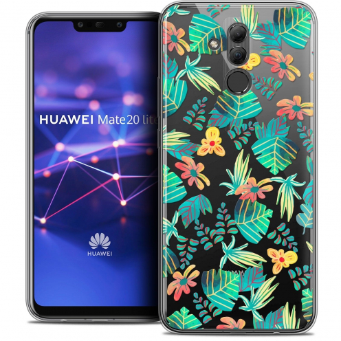 "Coque Crystal Gel Huawei Mate 20 Lite (6.3"") Extra Fine Spring - Tropical"