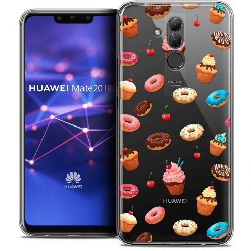 "Coque Crystal Gel Huawei Mate 20 Lite (6.3"") Extra Fine Foodie - Donuts"
