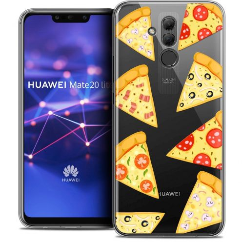 """Coque Crystal Gel Huawei Mate 20 Lite (6.3"""") Extra Fine Foodie - Pizza"""