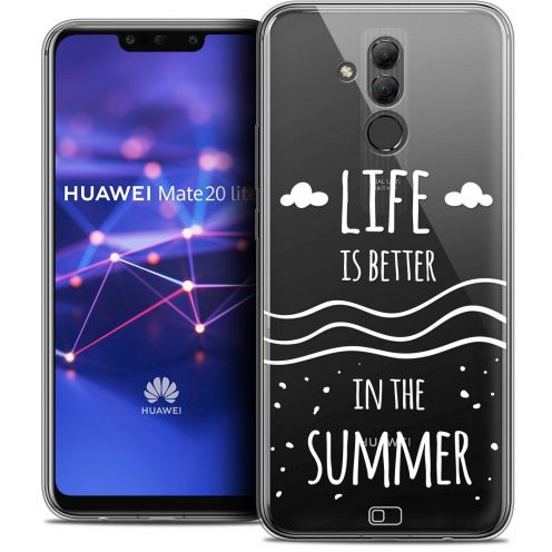 """Coque Crystal Gel Huawei Mate 20 Lite (6.3"""") Extra Fine Summer - Life's Better"""