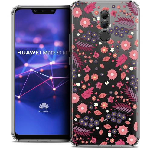 "Coque Crystal Gel Huawei Mate 20 Lite (6.3"") Extra Fine Spring - Printemps"
