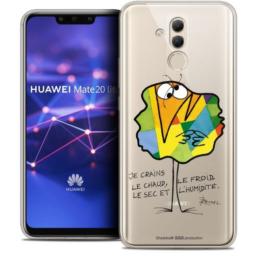 "Coque Gel Huawei Mate 20 Lite (6.3"") Extra Fine Les Shadoks® - Chaud ou Froid"
