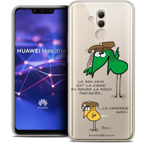 "Coque Gel Huawei Mate 20 Lite (6.3"") Extra Fine Les Shadoks® - Le Partage"