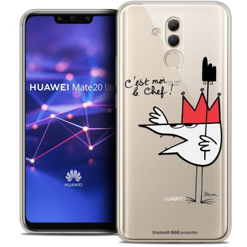 "Coque Gel Huawei Mate 20 Lite (6.3"") Extra Fine Les Shadoks® - Le Chef"