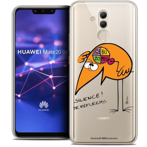 "Coque Gel Huawei Mate 20 Lite (6.3"") Extra Fine Les Shadoks® - Silence !"