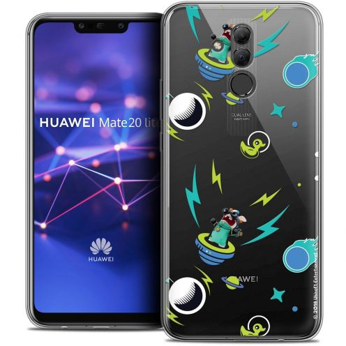 "Coque Gel Huawei Mate 20 Lite (6.3"") Extra Fine Lapins Crétins™ - Space 1"