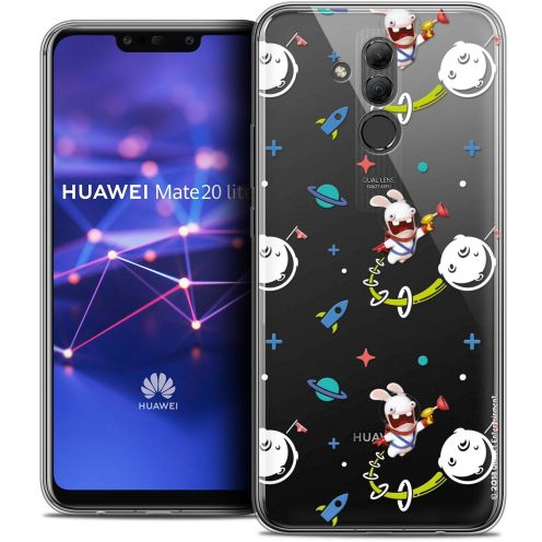 "Coque Gel Huawei Mate 20 Lite (6.3"") Extra Fine Lapins Crétins™ - Space 2"