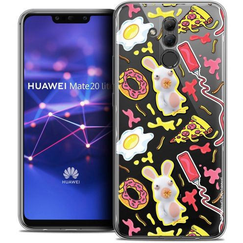 "Coque Gel Huawei Mate 20 Lite (6.3"") Extra Fine Lapins Crétins™ - Egg Pattern"