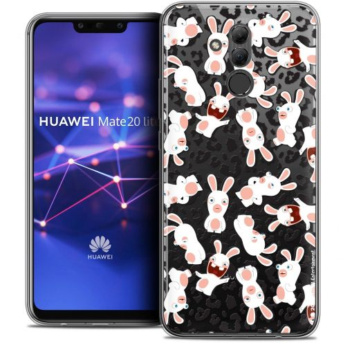 "Coque Gel Huawei Mate 20 Lite (6.3"") Extra Fine Lapins Crétins™ - Leopard Pattern"