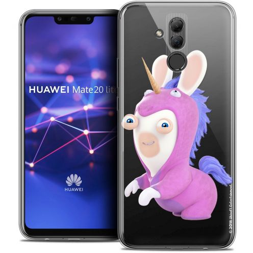 "Coque Gel Huawei Mate 20 Lite (6.3"") Extra Fine Lapins Crétins™ - Licorne"