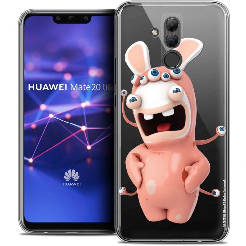 "Coque Gel Huawei Mate 20 Lite (6.3"") Extra Fine Lapins Crétins™ - Extraterrestre"