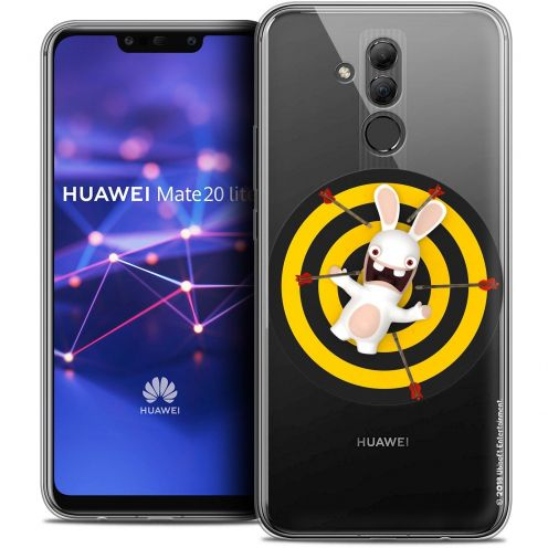 "Coque Gel Huawei Mate 20 Lite (6.3"") Extra Fine Lapins Crétins™ - Target"