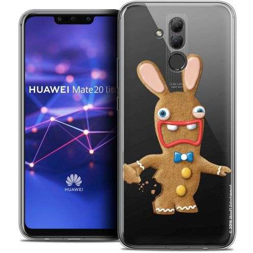 "Coque Gel Huawei Mate 20 Lite (6.3"") Extra Fine Lapins Crétins™ - Cookie"