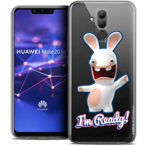 "Coque Gel Huawei Mate 20 Lite (6.3"") Extra Fine Lapins Crétins™ - I'm Ready !"