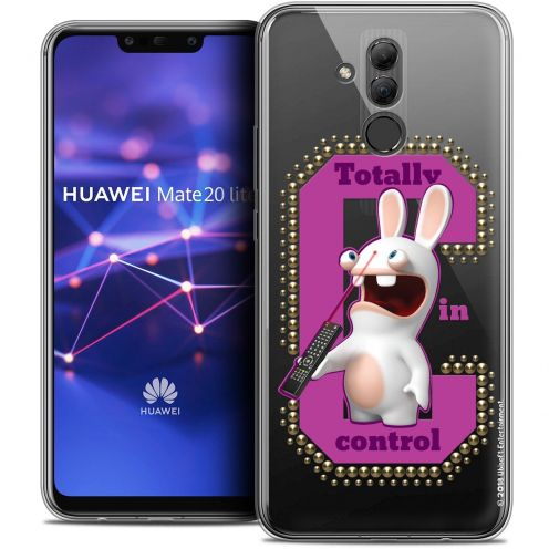 "Coque Gel Huawei Mate 20 Lite (6.3"") Extra Fine Lapins Crétins™ - In Control !"