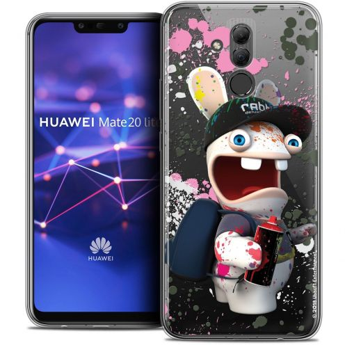 "Coque Gel Huawei Mate 20 Lite (6.3"") Extra Fine Lapins Crétins™ - Painter"