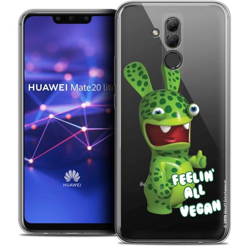 "Coque Gel Huawei Mate 20 Lite (6.3"") Extra Fine Lapins Crétins™ - Vegan"