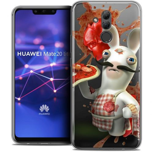 "Coque Gel Huawei Mate 20 Lite (6.3"") Extra Fine Lapins Crétins™ - Cuisinier"